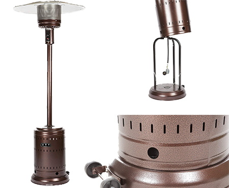 Fire sense hammer tone patio heater