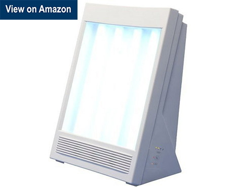 Nature bright sun touch plus light therapy lamp