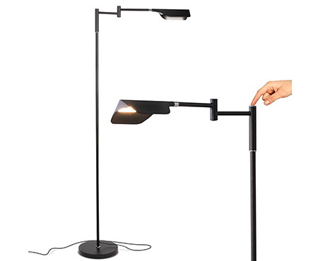 Brightech Leaf LED Touch Floor Lamp for Crafts