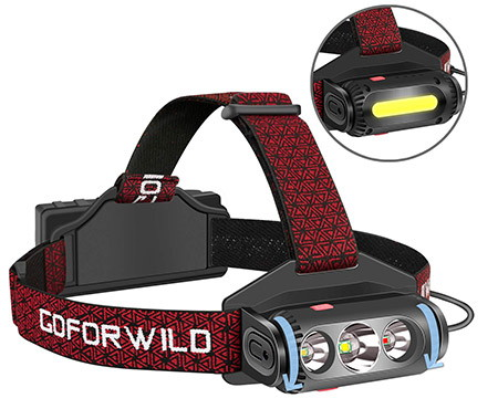Go For Wild Brightest LED Headlamp