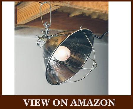 Woods Reflector Bulb Guard Clamp Lamp