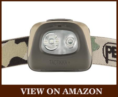 PETZL TACTIKKA 250 lumens ultra-compact tactical headlamp