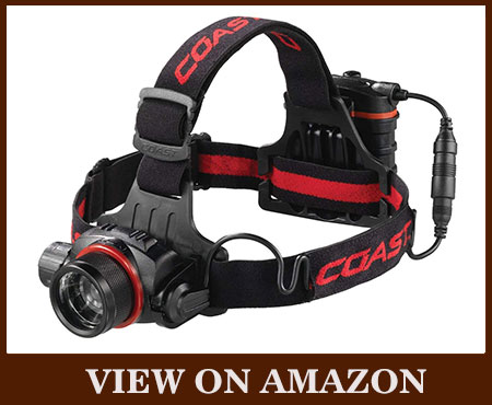 Coast HL8R 800 Lumens Rechargeable LED Headlamp