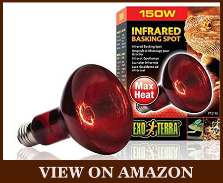 EXO Terra Heat-Glo Infrared 120-Volt Spot Heat Lamp