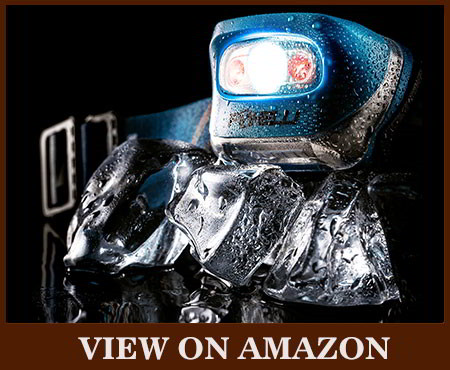 FOXELLI flashlight 165 lumens headlamp