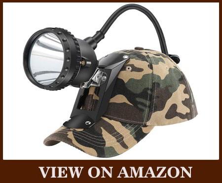 GEAROZ Coon Light Camo Hunting Headlamp