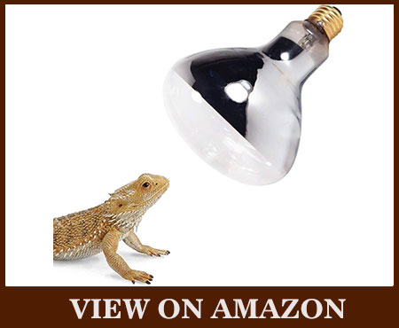 MY COMFYPETS UVB & UVA 2 In 1 Reptile Heat Lamp