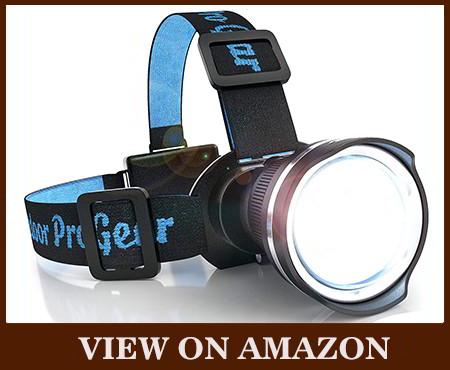 Super Bright LED Large Beam Hunting Headlamp
