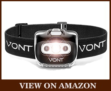VONT spark LED flashlight headlamp