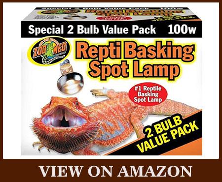 ZOO MED REPTI Basking Spot Bulb 100-Watt Heat Lamp