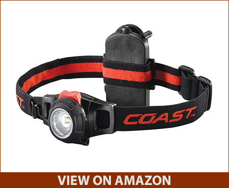 COAST HL7 305 Lumen Headlamp with Twist Focus