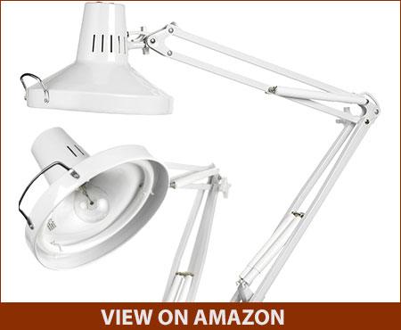 Daylight U32100-01 combo white desk lamp