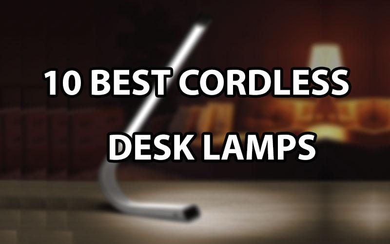 best cordless desk lamps