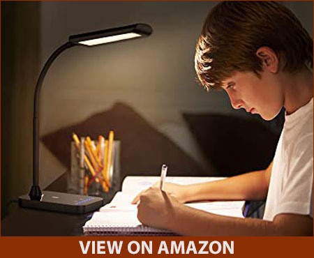 TaoTronics Flexible Gooseneck LED Desk Lamp