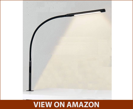 Swing Arm Gooseneck Desk Lamp