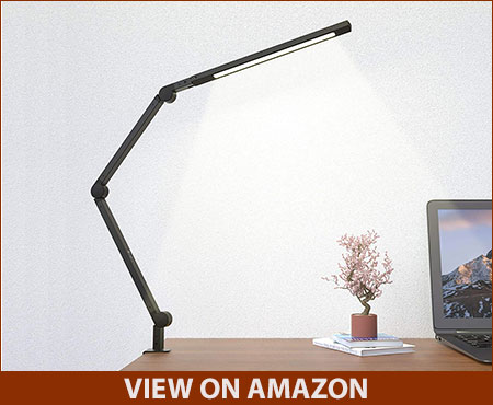 JolyJoy Swing Arm LED Desk Lamp